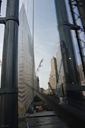 Reflections At The 9/11 Museum Print by Rob Hans