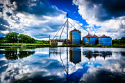Waukesha County Photos - Reflections at the Old Mill by Randy Scherkenbach