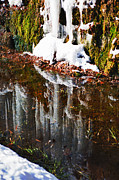 Park Scene Originals - Reflections by Gary Gish