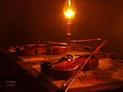 Oil Lamp Photos - Reflections by Gordon Collins