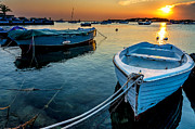 Mare Photo Originals - Reflections in Porto Cesareo by Renzo Re