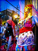 Store Fronts Posters - Reflections in the Life of a Mannequin Poster by Colleen Kammerer