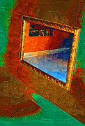 Reflections In The Mirror Print by Jonathan Steward