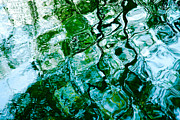 Abstract Canvas Photos Framed Prints - Reflections in Water Framed Print by Natalie Kinnear