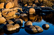 Watson Lake Photos - Reflections by Jag Fergus