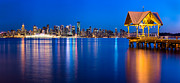 Vancouver Prints - Reflections of a Gazebo Print by Alexis Birkill