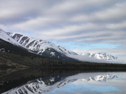 Alaska Prints Photos - Reflections of Alaska by Sharon Casavant