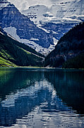 Western Canada Landscape Art Posters - Reflections of Lake Louise - Banff National Park Poster by Jordan Blackstone