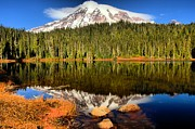 Adam Jewell - Reflections Of Mt Rainier