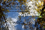 Reflection Tapestries - Textiles Posters - Reflections of nature. Poster by Dipali S