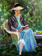 Wa Paintings - Reflections Of Sarah by Glenna McRae