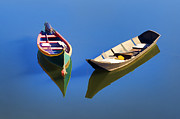 David Letts - Reflections of Two Canoes