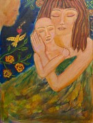Shiloh Sophia Art Art - Reflections on Motherhood by Havi Mandell