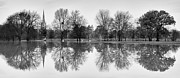 Flooding Photos - Reflections by Vinicios De Moura