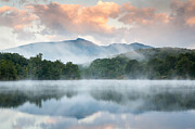 Western North Carolina Prints - Reflective Elder Print by Mark VanDyke