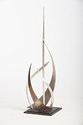 Abstract.trees Sculpture Prints - Regatta  Print by Jon Koehler