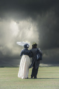 Bonnet Photos - Regency couple by Joana Kruse