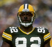 Green Bay Photos - Reggie White Poster by Sanely Great