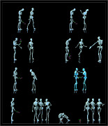 Male Forms Framed Prints - Rejected Robot... Framed Print by Tim Fillingim