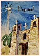 Star Of Bethlehem Painting Posters - Rejoice Poster by Marilyn Smith