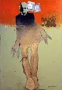 Southwest Indians Paintings - Relativity by Bert Seabourn