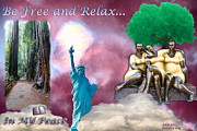 Terry Wallace Digital Art Prints - Relax In My Peace Print by Terry Wallace