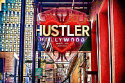 Running Of The Bulls Posters - Relax Its Just Sex Hustler Hollywood Poster by Sennie Pierson