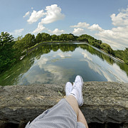 Tennis Shoes Photos - Relax by Steven  Michael