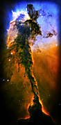 Release - Eagle Nebula 3 Print by The  Vault - Jennifer Rondinelli Reilly