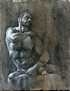 Nude Mixed Media - Release by Chris  Lopez