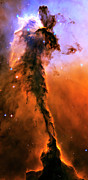 Explosion Photo Posters - Release - Eagle Nebula 1 Poster by The  Vault