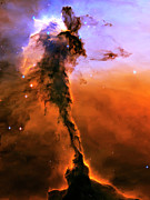 Solar Posters - Release - Eagle Nebula 2 Poster by The  Vault
