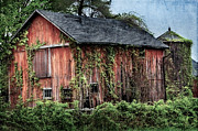 Old Barns Metal Prints - Relic Metal Print by Bill  Wakeley