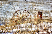 Wagon Wheels Prints - Relic Print by Thomas Danilovich