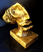Head Sculpture Prints - Relics Print by Mark M  Mellon