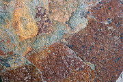 Featured Reliefs Metal Prints - Relief Metal Print by Harvey Burns