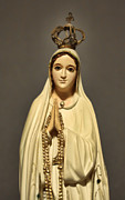 Virgin Mary Metal Prints - Religion - The Virgin Mary Metal Print by Lee Dos Santos