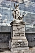 Israelites Prints - Religious Liberty Statue Wide Print by James Ring