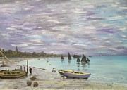 Wagner Chaves - Remade - Monet - Beach