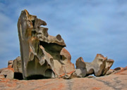 Kangaroo Island Photos - Remarkable Rocks by Alan Toepfer
