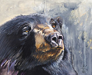 Black Bear Art - Remember me by J W Baker