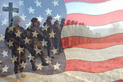 Patriots Prints - Remember Our Troops Print by Ernie Echols