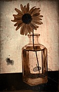 Aster  Mixed Media - Remember Sepia 2 by Chalet Roome-Rigdon