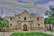 Barry Jones Metal Prints - Remember the Alamo Metal Print by Barry Jones