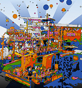 Peter Max Prints - Remember When Print by Terry Weaver
