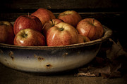 Wooden Bowls Prints - Remembering Autumn Print by Amy Weiss