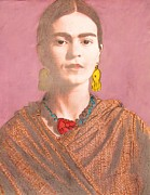 Activist Mixed Media Prints - Remembering Frida Print by Pg Reproductions