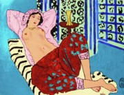 Roberto Prusso Framed Prints - Remembering Matisse Framed Print by Roberto Prusso