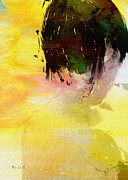 Hair Abstract Art Paintings - Remembering Summer by Bob Orsillo