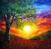 Popular Painting Prints - Remembrance Print by Ann Marie Bone